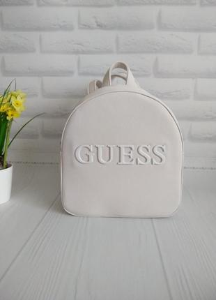 Рюкзак guess, цвет белый