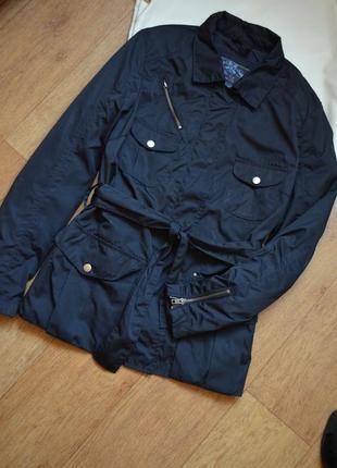 S.oliver куртка плащ ветровка демисезонная куртка с поясом оригинал стильная l