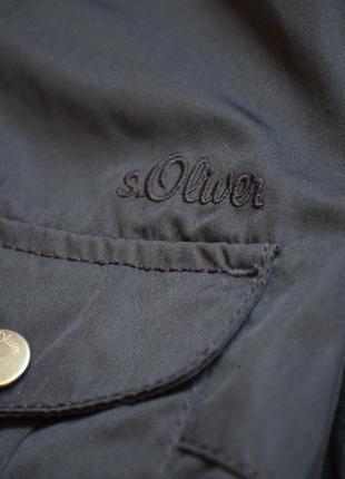 S.oliver куртка плащ ветровка демисезонная куртка с поясом оригинал стильная l3 фото