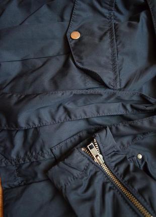 S.oliver куртка плащ ветровка демисезонная куртка с поясом оригинал стильная l4 фото