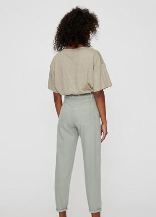 Брюки джинсы слоучи slouchy pull&bear2 фото