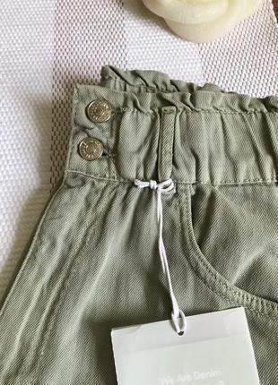 Брюки джинсы слоучи slouchy pull&bear8 фото
