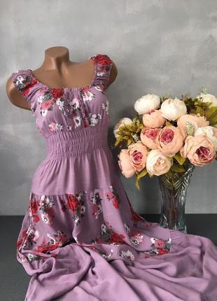 Сарафан платье миди