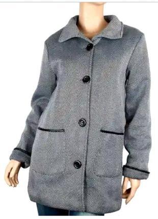 Пальто женское, кардиган, италия бренд anne de lancay