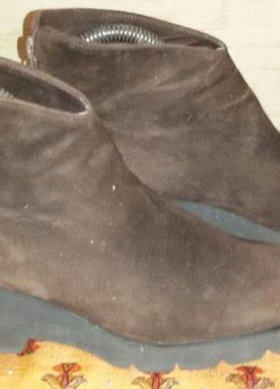 Замшевые ботиночки maripé италия р.38