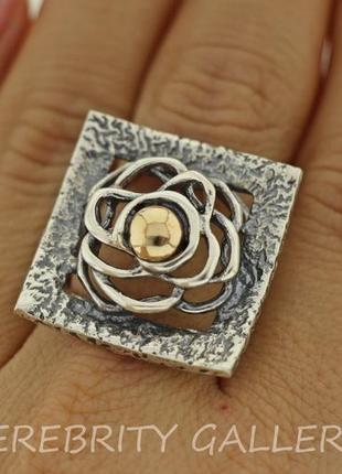 10% скидка подписчику кольцо серебряное i 100919 bk gd 19 серебро 925