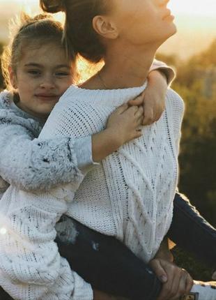 Плюшевый вязаный велюровый свитер из синели оверсайз батал большой размер