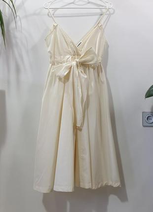 Маленькое платье сарафан от jil sander