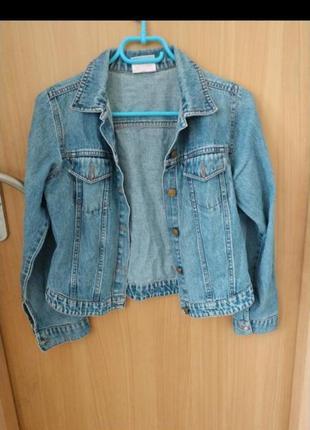 Джинсовая куртка джинсовка летняя
