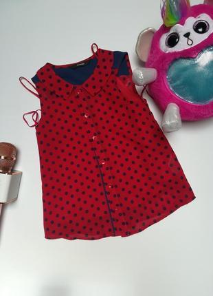 Блуза george 2 в 1, 6-7 років.