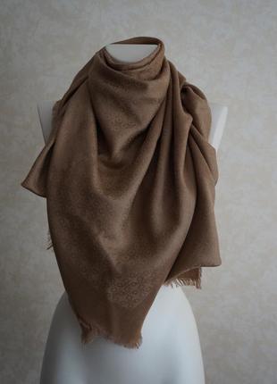 Роскошный шарф палантин цвет кемел,большой
