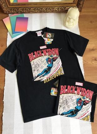 Крутая футболка marvel pull&bear