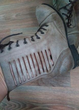Крутые ботинки diesel оригинал2 фото