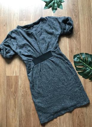 Стильное платье туника mango xs-s