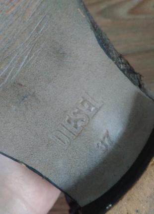 Крутые ботинки diesel оригинал5 фото