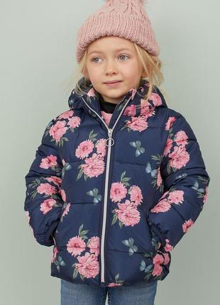 Деми куртка для девочки от h&m
