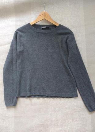 Базовый кашемировый свитер джемпер шерсть + кашемир