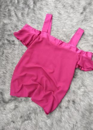 Sale топ блуза кофточка с вырезами на плечах atmosphere