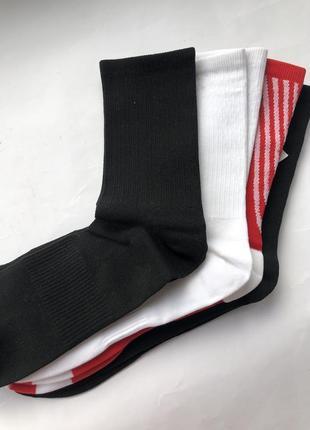 Высокие носки h&m sport ! упаковка из 4 пар !