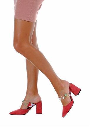 Шикарные мюли , сабо , туфли 37 размер