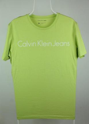 Оригинальная стильная футболка calvin klein jeans