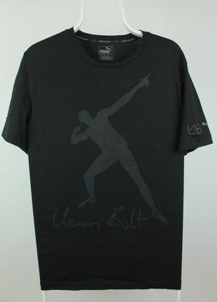 Оригинальная качественная футболка puma usain bolt