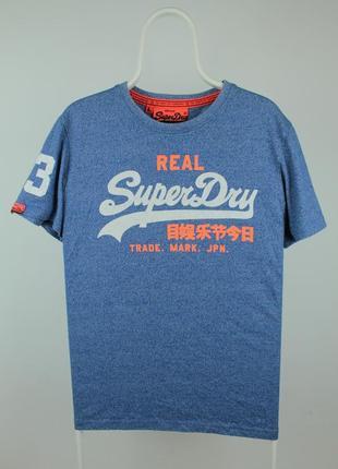 Стильная качественная футболка superdry vintage logo duo graphic print