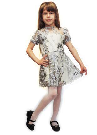 Платье нарядное для девочки m0041 фото