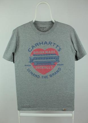 Оригинальная стильная футболка carhartt demand t-shirt
