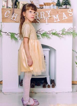 Платье золото m0083 фото