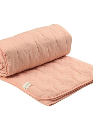 """Одеяло """"rose summer"""" с волокном роза"""