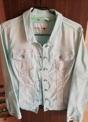 Модная джинсовая курточка cecil