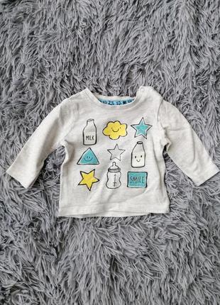 Кофта распашонка боди футболка для новорожденных