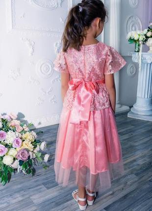 Нарядное платье для девочки m0732 фото