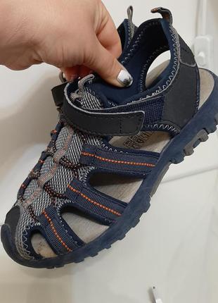 Немецкие крепкие сандалии, босоножки шлепанцы alive р. 33-34 (22см)