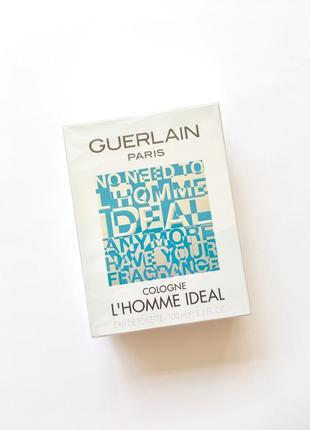 Guerlain homme ideal cologne оригинал 100 мл