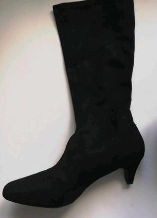 Ботинки ботильоны чулок by very новые2 фото