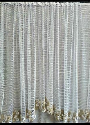 Кухонная занавеска сетка