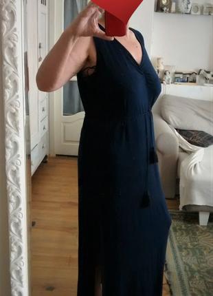 Платье большого размера в пол,большой размер,батал