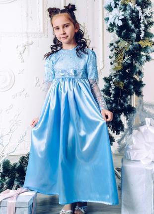 Платье нарядное ангелочек для девочки m071