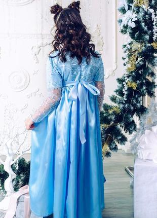 Платье нарядное ангелочек для девочки m0712 фото