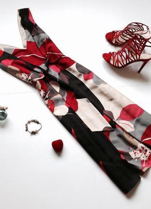 Шелковое платье миди phase eight