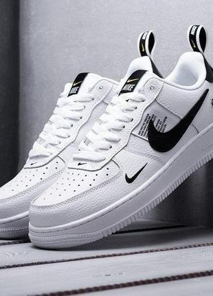 Nike air force 1 low utility white женские кроссовки наложенный платёж купить кросівки