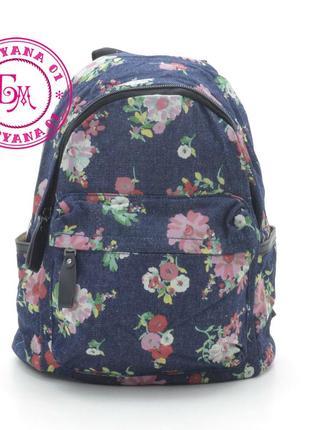 Джинсовый рюкзак little pigeon sale