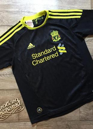 Adidas футболка , fc liverpool  ,gerrard 8 ,на 9\ 10 лет