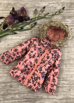 Куртка lupilu cherokee цветы размер 4-5 лет рост 110 см германия