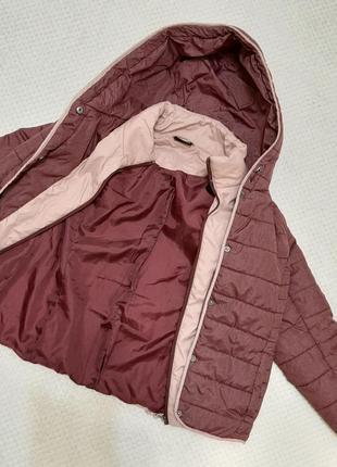 Легкая, теплая стеганая деми куртка jean pascale р. 46-48 (14/42)6 фото