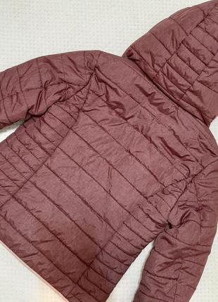 Легкая, теплая стеганая деми куртка jean pascale р. 46-48 (14/42)8 фото