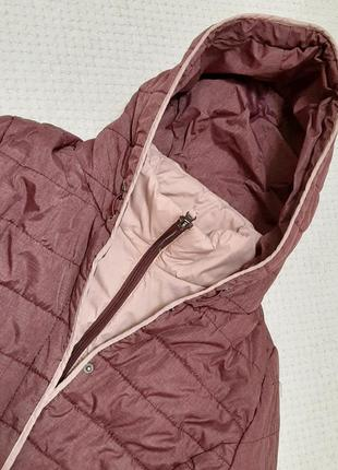 Легкая, теплая стеганая деми куртка jean pascale р. 46-48 (14/42)2 фото