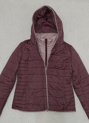 Легкая, теплая стеганая деми куртка jean pascale р. 46-48 (14/42)5 фото